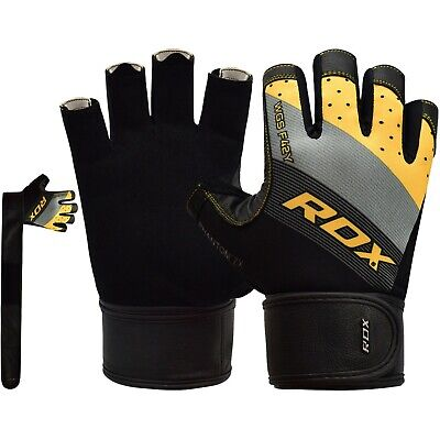 RDX Weight Lifting Gym Gloves Training BodyBuilding  Exercise Fitness Yoga CA
