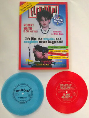 "FLEXIPOP MAGAZINE (with 3x7"" discs!! The Selecter/Motorhead/Spandau/Marc Almond)"