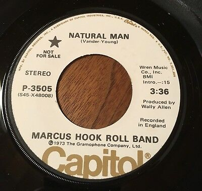 MARCUS HOOK ROLL BAND Natural Man AC / DC Angus Young PROMO 1973 NM  top copy !