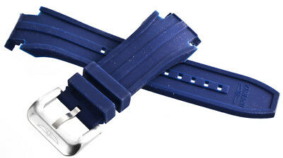 Invicta Men's 32mm Blue Rubber Watch Band