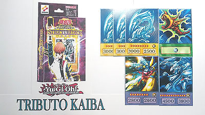 Yu-Gi-Oh! Custom Anime Orica - KAIBA DECK TRIBUTE COMPLETE - 54 CARDS  FOR KIDS