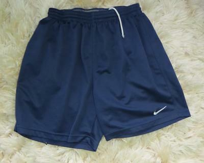 Nike blue football shorts size L