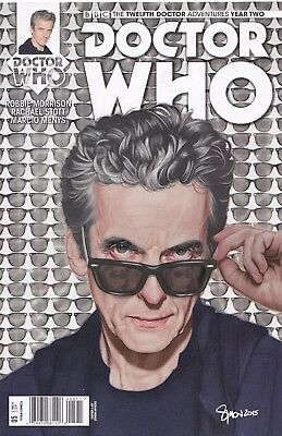 DOCTOR WHO The Twelfth Doctor YEAR TWO (2016) #5 - Cover A - New Bagged