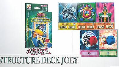 Yu-Gi-Oh! Custom Anime Orica - JOEY STRUCTURE DECK COMPLETE  45 CARDS FOR KIDS