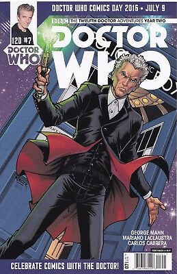 DOCTOR WHO The Twelfth Doctor YEAR TWO (2016) #7 New Bagged