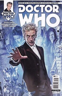 DOCTOR WHO The Twelfth Doctor YEAR TWO (2016) #8 - Cover B - New Bagged