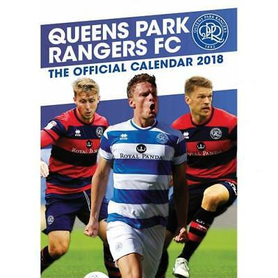 Queens Park Rangers Calendar 2018 Wall Gift Official Licensed Football Product