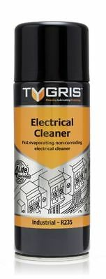 Tygris 400ml Electrical Switch Contact Cleaner Solvent Aerosol Spray (R235)