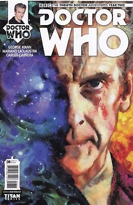 DOCTOR WHO The Twelfth Doctor YEAR TWO (2016) #8 - Cover A - New Bagged