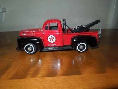 1949 Ford F-1 Tow Truck Texaco 1/24 scale dime bank limited edition