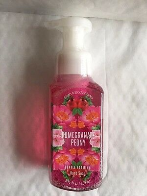 Bath & Body Works POMEGRANATE PEONY Gentle Foaming Hand Soap 8.75 oz / 259 mL