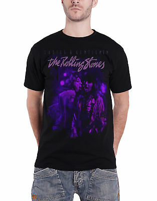 The Rolling Stones T Shirt Mick and Keith Together new Official Mens Black