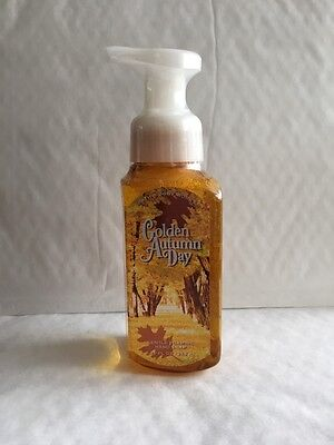 Bath & Body Works GOLDEN AUTUMN DAY Gentle Foaming Hand Soap 8.75 oz / 259 mL