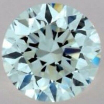 Diamant Diamond Brillantschliff 0,81 ct VVS1 Fancy Blue 6,40mm