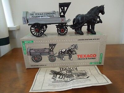 ERTL TEXACO Horse and Tanker bank, Series #8 Limited edition
