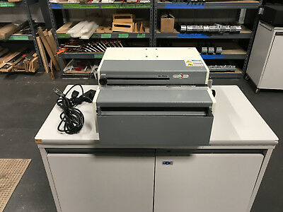 Rhin-O-Tuff HD7000 Binding Punch w/ 4:1 .248 Coil Die - Serviced & Tested