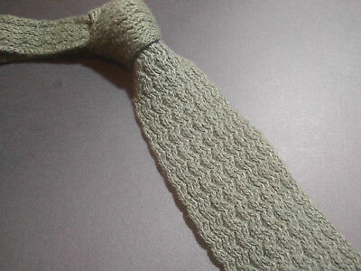 Rare STEFANO RICCI  100% Cashmere Woven Knitted Trunk Tie Krawatte