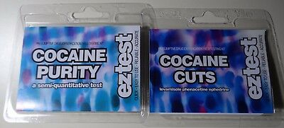 Cocaine Purity Testing Kit and Cocaine Cuts Testing Kit