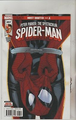 Marvel Comics Peter Parker Spectacular Spiderman #297 January 2018 1St Print Nm