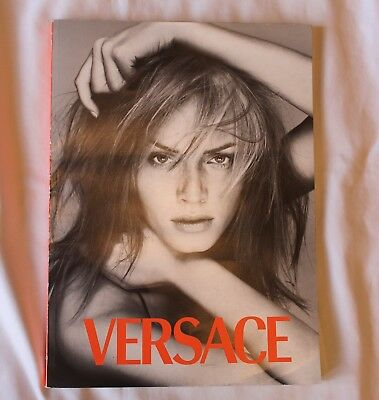1996 VERSACE CATALOG N0. 30 W/AMBER ON COVER & MADONNA INSIDE--148 pages!! NR!