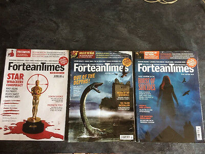 Fortean Times Magazine X 3.  May 2016  June 2016  July 2016  Supernatural