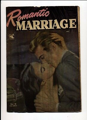 Romantic Marriage #18 Vg 1953 St John