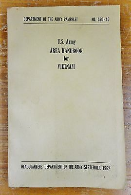 US ARMY Map Vietnam 1960 MR5 24 X 36 Ron 1500 PicClick
