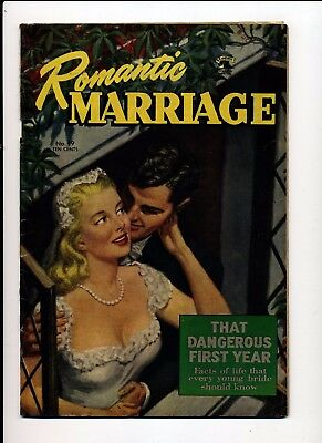 Romantic Marriage #19 Vg/fn 1953 St. John