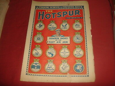 THE HOTSPUR #524  September 8th 1945  UK  British Comic