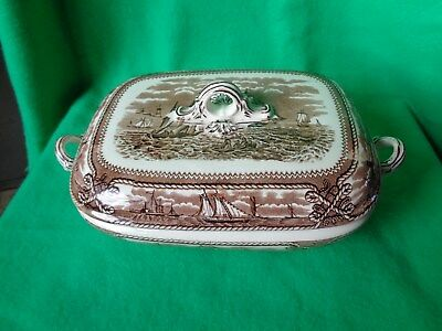 American Marine Covered Vegetable Dish Ashworth Bros.