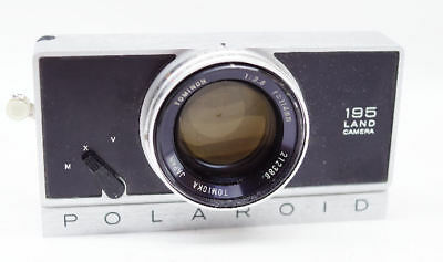 Polaroid 195 Camera Front Assembly with shutter and lens FOR PARTS