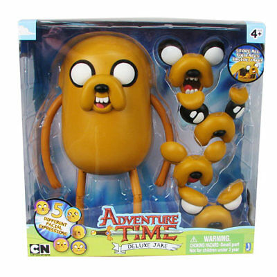 Adventure Time with Finn & Jake Deluxe Jake 10 inch with 5 different Facial