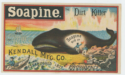 Soapine Beach Whale Gets A Cleaning Trade Card