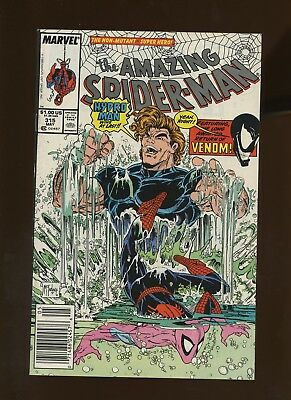 Amazing Spider-Man 315 VF+ 8.5 * 1 Book Lot * Hydro-Man! Venom! Todd McFarlane!