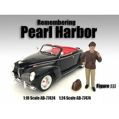 REMEMBERING PEARL HARBOR FIGURE III  -1/24 scale - AMERICAN DIORAMA #77474