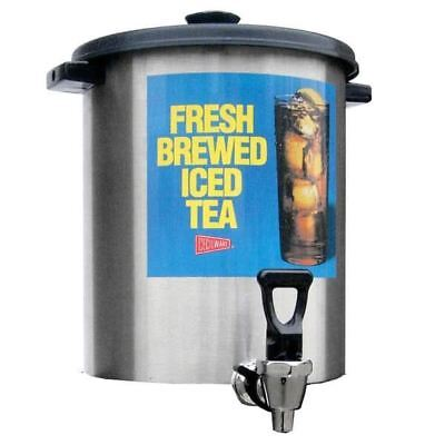 Cecilware B-1/3T Stainless Steel 3 Gallon Iced Tea Dispenser