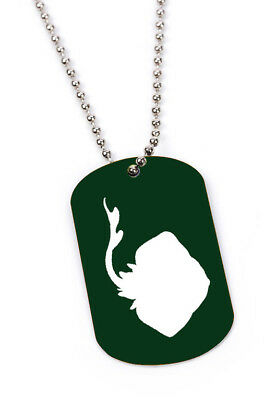 Personalized Mantiray beach Engraved Custom Military Dog Tag or Key Chain