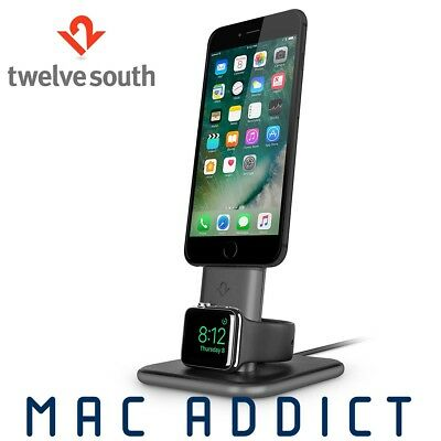 Twelve South HiRise Duet Combined Charging Stand For iPhone X/8/7/6s Apple Watch