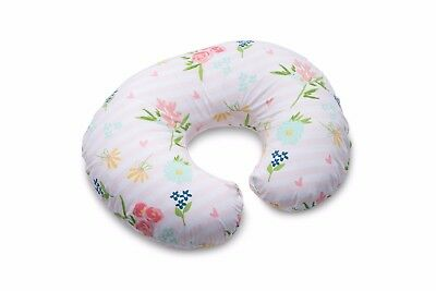 Boppy Floral Stripe Nursing Pillow and Positioner - Pink New