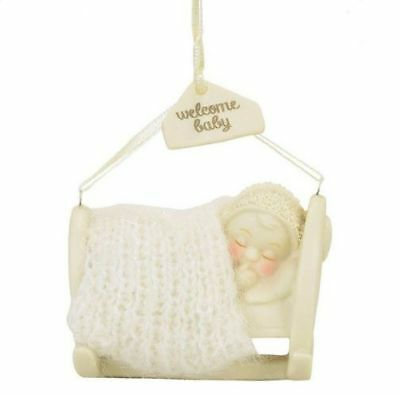 Department 56 Classic Snowbabies New 2017 WELCOME BABY Snowbaby Ornament 4058531