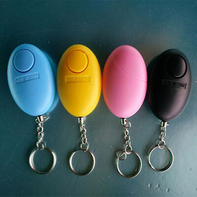 1 PC Self Defense Keychain Personal Alarm Emergency Siren Song Survival Whistle