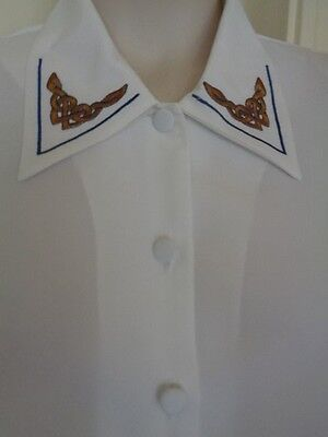 VINTAGE BLOUSE BY JAMES PRINGLE WEAVERS of INVERNESS