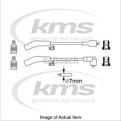 New Genuine BOSCH Ignition Lead Cable Kit 0986356819 Top German Quality