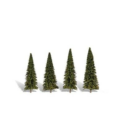 "Woodland Scenics TR3568 Pine Trees, Forever Green 3.5"" -6"" (4) Classics Tree"