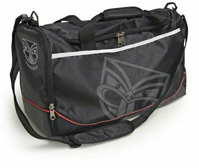 New Zealand Warriors NRL Sports Travel Bag! School Bag! Shoulder Bag!
