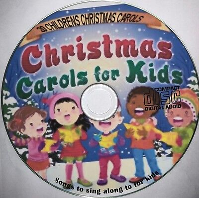 Christmas Carols + Songs on CD Children's Christmas Sing Along  20 Xmas kids