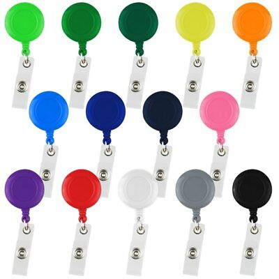 Wholesale Lot Retractable Badge Reel ID Key Card Name Tags Holders Belt Clips