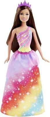 Barbie Fairytale Princess Doll - Rainbow Kingdom Fashion - DHM52 - NEW