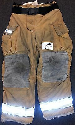 38x30 Pants Trouser Firefighter Turnout Bunker Fire Gear Globe Gxtreme P657