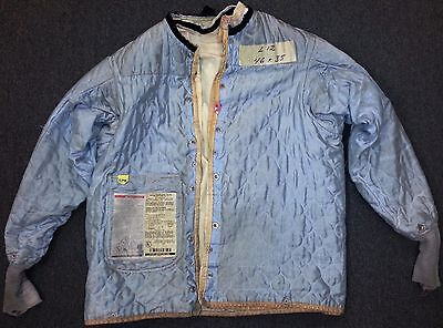 46x35 Firefighter Jacket Coat Liner Bunker Fire Turn Out Gear Globe Suits L12